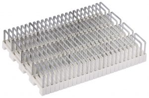 100 Insulated Cable Staples (4-6mm)