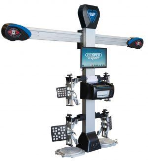 Digital 3-D Four Wheel Aligner