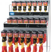 Dispenser with 48 x 960 VDE Insulated Screwdrivers