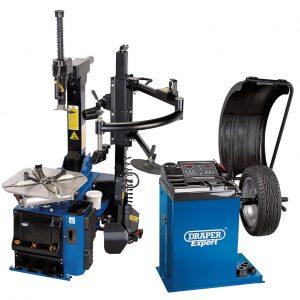 Tyre Changer with Assist Arm and Wheel Balancer Kit