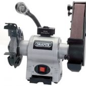 150mm Bench Grinder with Sanding Belt and Worklight (370W)