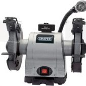 200mm Heavy Duty Bench Grinder with Worklight (550W)