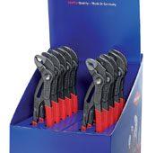 Knipex Countertop Display of 10 x 250mm Cobra Waterpump Pliers