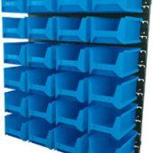 24 Bin Wall Storage Unit, Large Bins