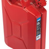 20L Steel Fuel Can (Red)