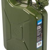 10L Steel Fuel Can (Green)