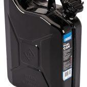 10L Steel Fuel Can (Black)