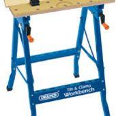 Tilt & Clamp Fold Down Workbench, 600mm