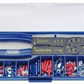 5 Way Crimping Tool & Terminal Kit, 240mm