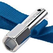 """1/2"""" Sq. Dr. or 21mm 120mm Capacity Oil Filter Strap Wrench"""