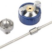 Spare 0.8mm Nozzle, Needle and Cap Set for Spray Guns 09708 and 09709