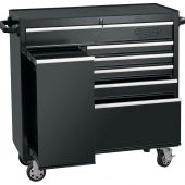 """42"""" Roller Tool Cabinet With Side Locker (6 Drawer)"""