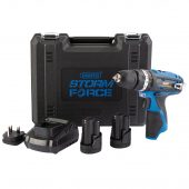 Storm Force® 10.8V Combi Drill with 2x 1.5Ah Batteries + Charger