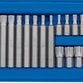 "3/8, 1/2"" Sq. Dr. Ribe® Socket and Bit Set (22 Piece)"