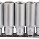 """3/8"""" Sq. Dr. Deep Socket Set on Metal Rail (10 Piece)"""