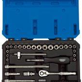 """1/4"""" Sq. Dr. Combined MM/AF Socket Set (40 Piece)"""