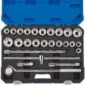 """3/4"""" Sq. Dr. Combined MM/AF Socket Set (26 Piece)"""