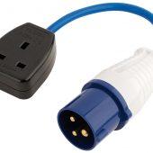 230V Adaptor Lead (16A Plug to 13A Socket)