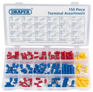 Insulated Terminal Assortment (150 Piece)