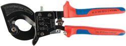 Knipex 95 31 250 250mm Ratchet Action Cable Cutter