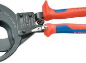 Knipex 95 31 280 280mm Ratchet Action Cable Cutter