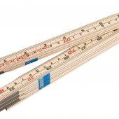 Folding Wood Rule (2m)