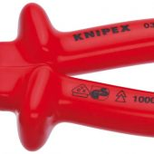 Knipex 03 07 180 180mm Fully Insulated S Range Combination Pliers