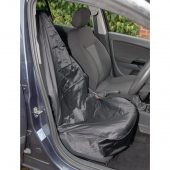 Side Airbag Compatible Polyester Front Seat Cover