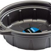 Fluid Drain Pan, 16L, Black