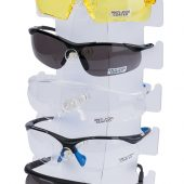 Countertop Display of Six Safety Spectacles