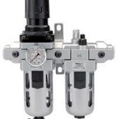 "1/2"" BSP Combined Filter/Regulator/Lubricator"