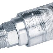"""1/2"""" BSP Male Thread Air Line Coupling (Sold Loose)"""