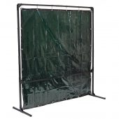 Welding Curtain with Metal Frame, 6 x 6'