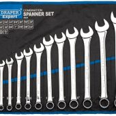 Draper Expert HI-TORQ® Imperial Combination Spanner Set (14 Piece)
