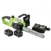 D20 40V Chainsaw with 2 x Batteries and Fast Charger