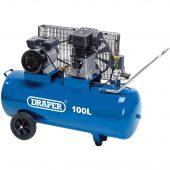 Belt-Driven Air Compressor, 100L, 2.2kW