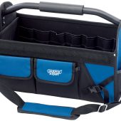 Folding Tote with Tubular Steel Handle, 610mm