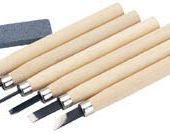 Wood Carving Set with Sharpening Stone (7 Piece)