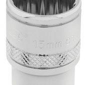 "3/8"" Sq. Dr. Hi-Torq® 12 Point Socket (15mm)"