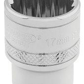"3/8"" Sq. Dr. Hi-Torq® 12 Point Socket (17mm)"
