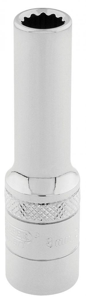 "3/8"" Sq. Dr. Hi-Torq® 12 Point Deep Socket (8mm)"