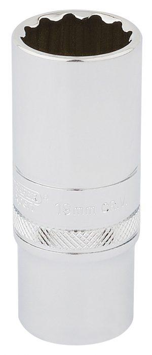 "3/8"" Sq. Dr. Hi-Torq® 12 Point Deep Socket (19mm)"