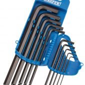 Imperial Hex. and Ball End Hex. Key Set (10 Piece)