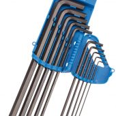 Extra Long Imperial Hex. and Ball End Hex. Key Set (10 Piece)