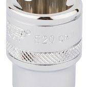 "3/8"" Sq. Dr. Draper TX-STAR® Socket (E20)"