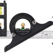 Combination Square with Centre Head and Protractor, 300mm