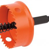 35mm Bi-Metal Hole Saw with Integrated Arbor