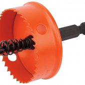 38mm Bi-Metal Hole Saw with Integrated Arbor