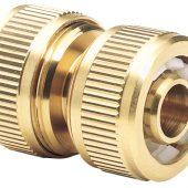 "Brass Hose Repair Connector (1/2"")"