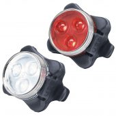 Rechargeable LED Bicycle Light Set
